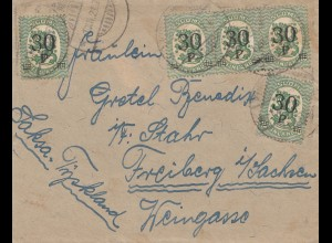 Finnland: 1921: Brief nach Freiburg