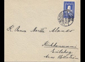 Finnland: 1942: Brief Ilmajoki