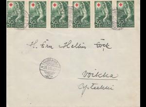 Finnland: 1941 Brief von Kaumajukik nach Voikka