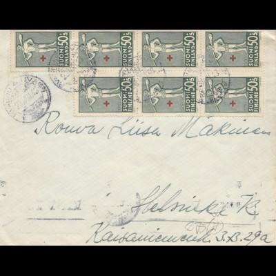 Finnland: 1943. Brief nach Helsinki