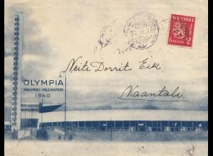 Finnland: 1939/40: Olympia nach Naantali