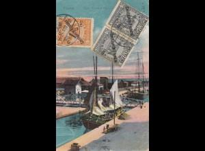 Fiume: 1922: Ansichtskarte
