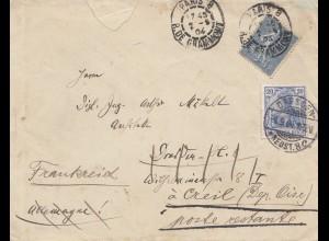 Frankreich: 1904: Paris nach Dresden und zurück