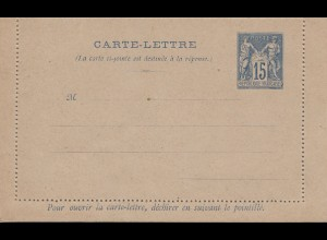 Frankreich: Carte-Lettre K8