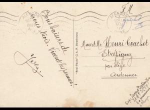 Frankreich: 1940: Carte postale Alencon