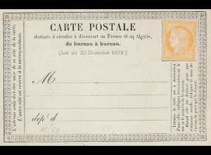 Frankreich: Carte Postale