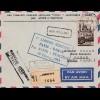 Frankreich: 1953: Luftpostbrief Paris - Dakar/Senegal