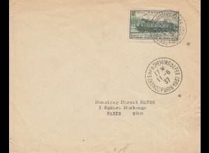 Frankreich: 1937: Paris Congres des chemin de Fer