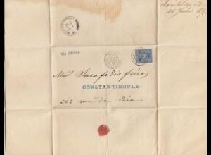 Frankreich: 1878: Paris nach Constantinople