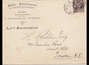 Frankreich: 1893: Alger nach London