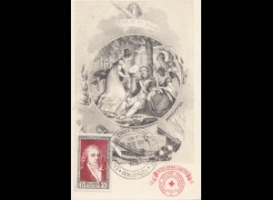 Frankreich: 1951: Carte Postale Croix Rouge Francaise - Innsbruck
