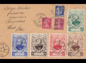 Frankreich: 1937: Paris nach Hagenthal