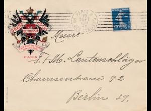Frankreich: 1910: Paris nach Berlin