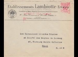 Frankreich: 1931: Paris nach Nancy