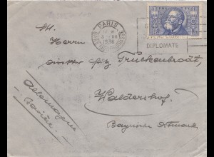 Frankreich: 1936: Paris nach Waldershof