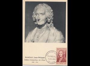 Frankreich: 1953 Premier Jour Rameau Dijon