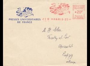 Frankreich:1959: Paris nach Leipzig: Presses Universitaires