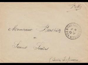 Frankreich:1923: Tresoret Postes