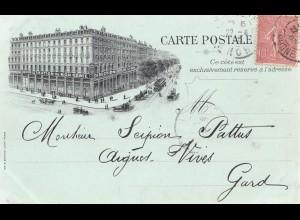 Frankreich: 1905: Carte Postale von Lyon