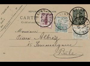 Frankreich: 1920: Saint Louis nach Basel/Schweiz