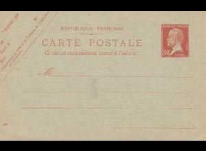 Frankreich: Ganzsache - Carte Postale