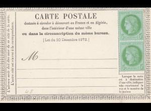 Frankreich: Carte Postale - 48a - (2x)