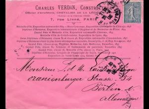 Frankreich: 1906: Paris nach Berlin