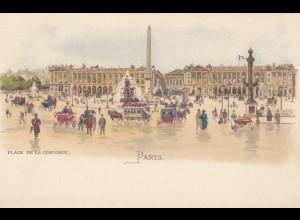Frankreich: 4x Ansichtskarten von Paris