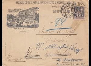 Frankreich: 1898: Vichy nach Deutschland