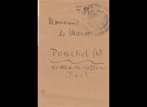 Frankreich: Streifband nach Ponchel