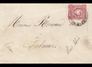 Frankreich: 1876: Weiler nach Colmar