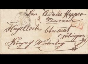 Frankreich: 1843: Mühlhausen nach Tübingen