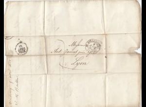 Frankreich: 1832-37: Colmar, Niderbrunn, Schelestat, Strasbourg