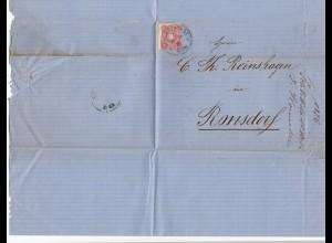 Frankreich: 1876: Schlettstadt nach Ronsdorf