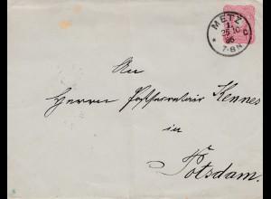 Frankreich: 1886: Metz nach Potsdam