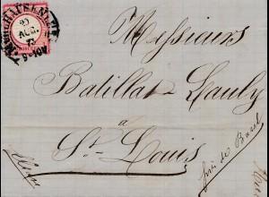 Frankreich: 1873: Mühlhausen nach St. Louis