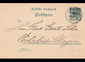Frankreich: 1890: St. Ludwig nach Solingen