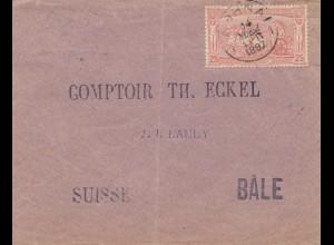 Griechenland: 1897 Brief nach Basel