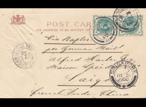 England: 1900 London nach Saigon