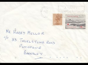 England: 1986 Christmas Greeting: Ponistone Scouts
