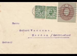 England: 1926: London nach Norden