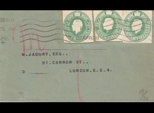 England: 1929: Brief in London