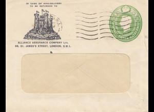 England: Brief aus London - Burg