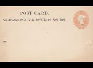 England: Post card, Ganzsache