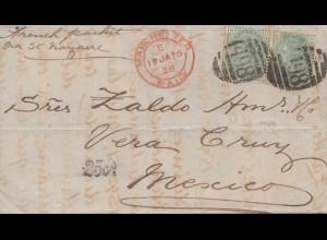 England: 1898: Manchester nach Mexico