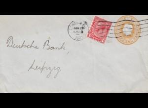 England: 1922: Brief von London nach Leipzig