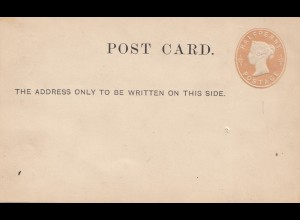 England: Ganzsache - Post card