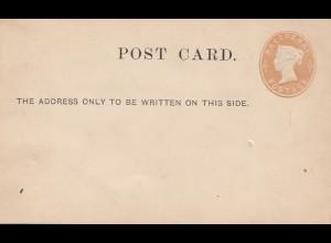 England: Ganzsache - Post card