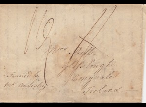 England: 1816: Brief nach Ireland