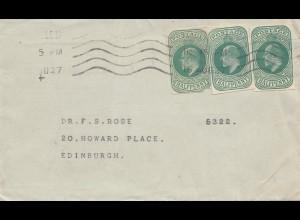 England: 1927: nach Edinburgh